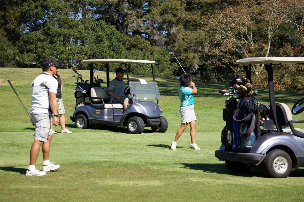 2015 Golf Tournament players