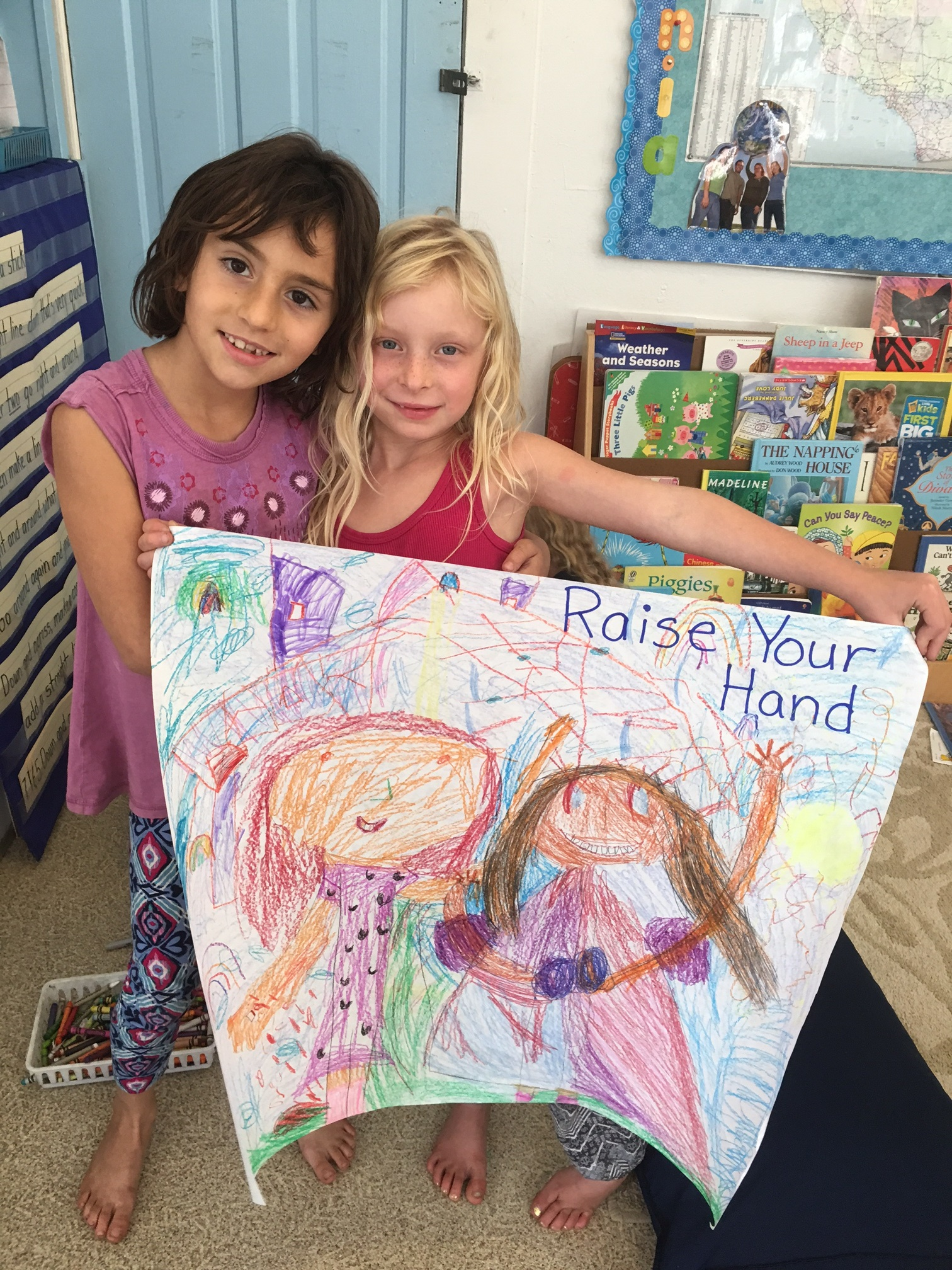 Deciding What's Important: First and Second Graders Generate Class Rules