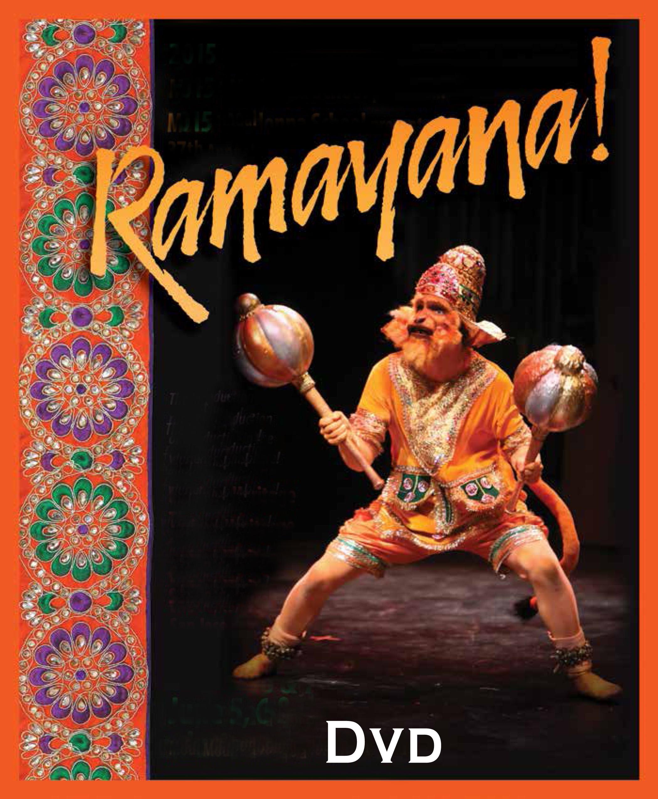 2015 <i>Ramayana!</i> DVD