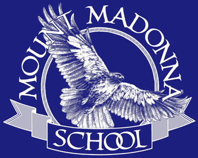 CLEARANCE! Mount Madonna School  Adult T-shirt