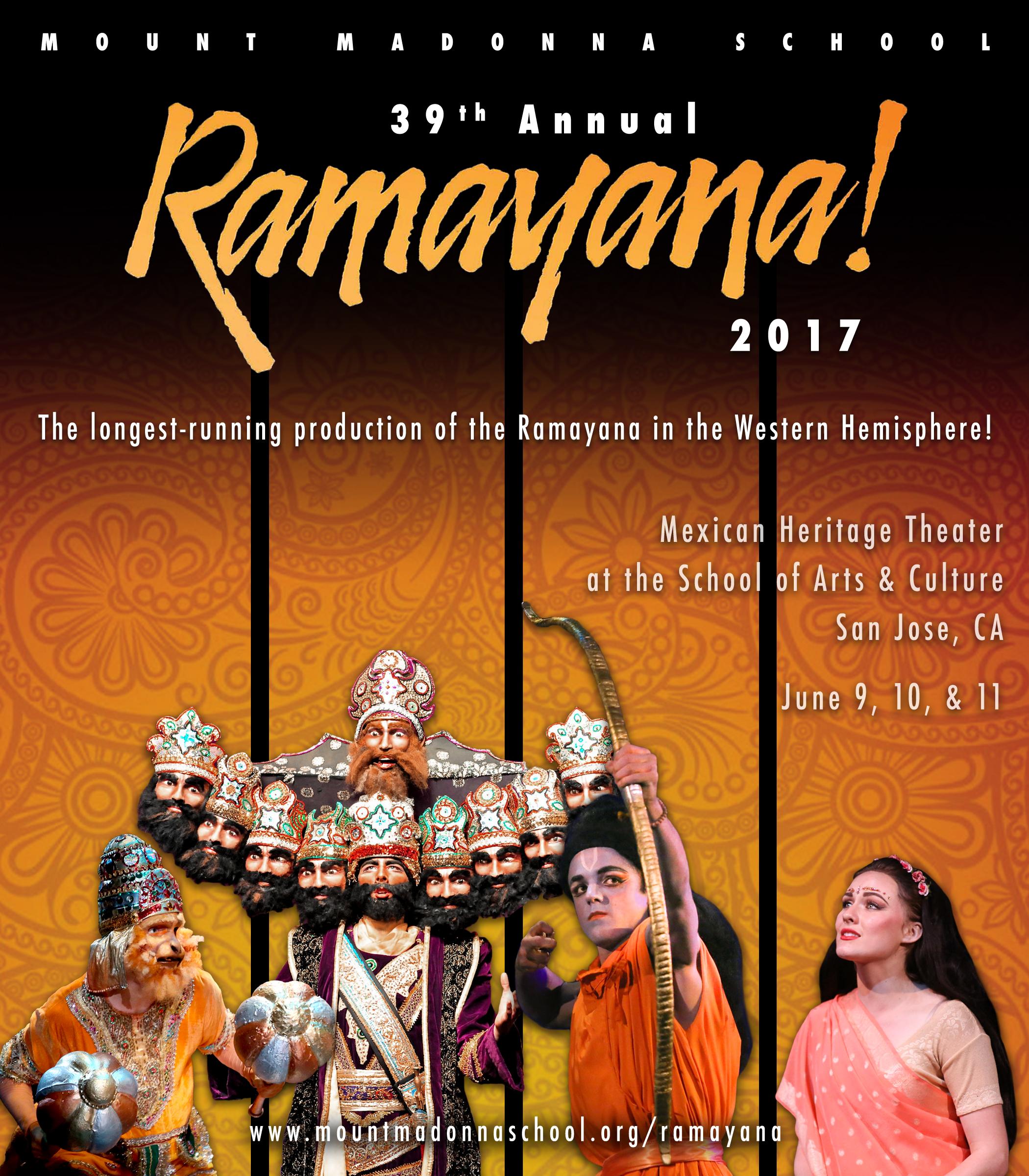 2017 <i>Ramayana!</i> Video Recording