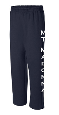 CLEARANCE! Mount Madonna Adult Straight Leg Sweatpants