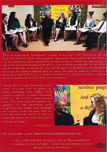 Sawubona Project 2011 - Interview with Archbishop Desmond Tutu