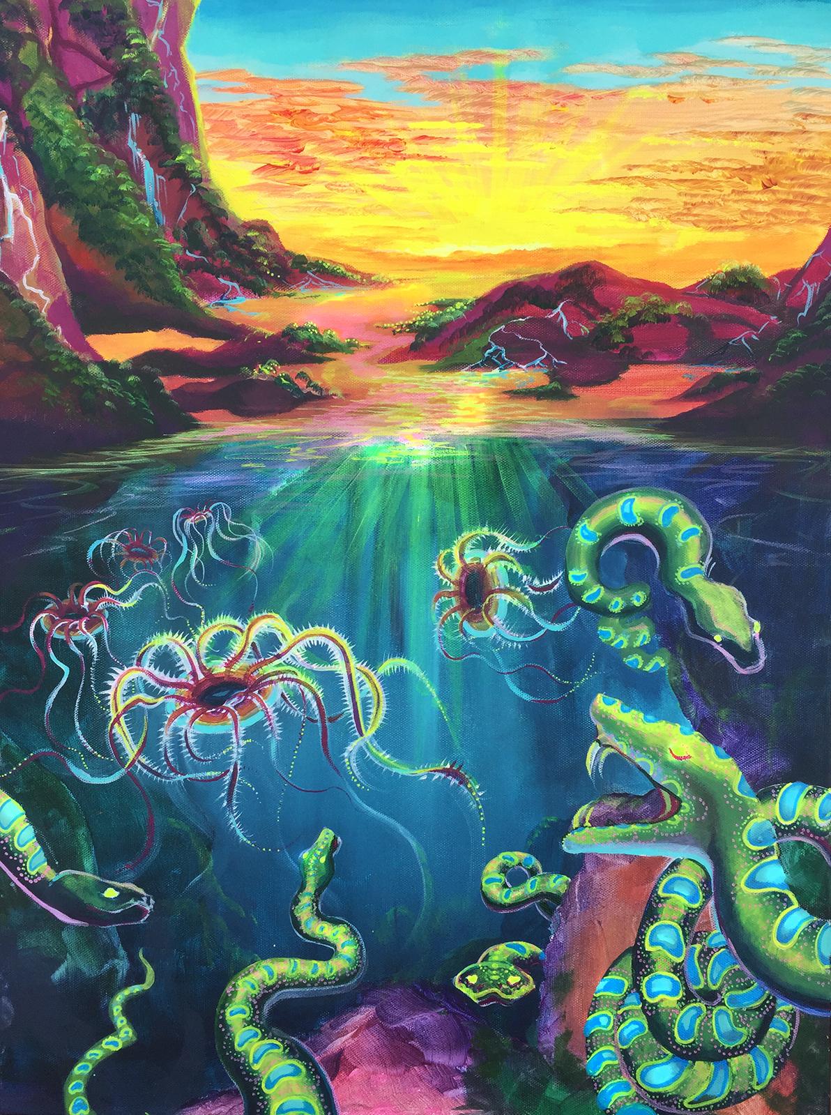 """""""Dreamscape"""" Print"""