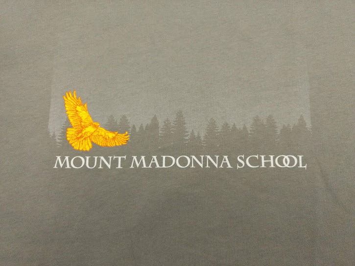 Gray Mount Madonna T-Shirt