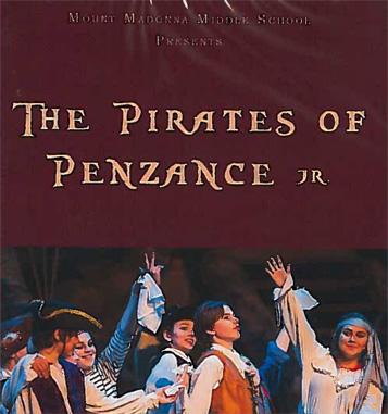 2016 Pirates of Penzance DVD