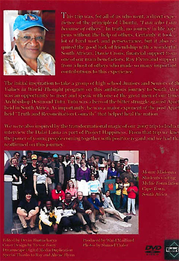 The Ubuntu Project 2009 - A Learning Journey to South Africa DVD