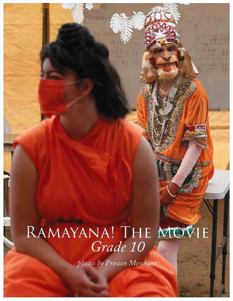 2021 10th Grade <i>Ramayana!</i> Photo Book