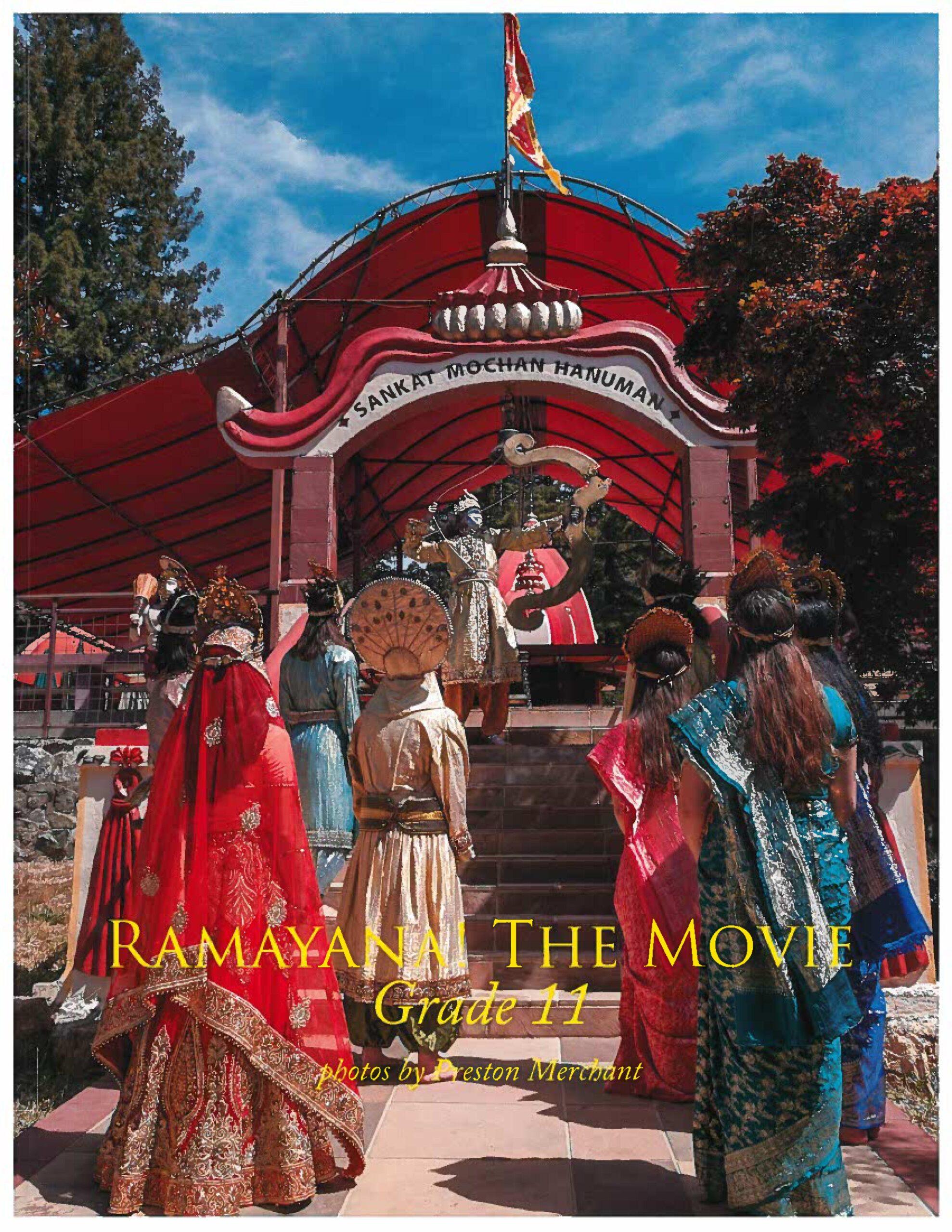 2021 11th Grade <i>Ramayana!</i> Photo Book
