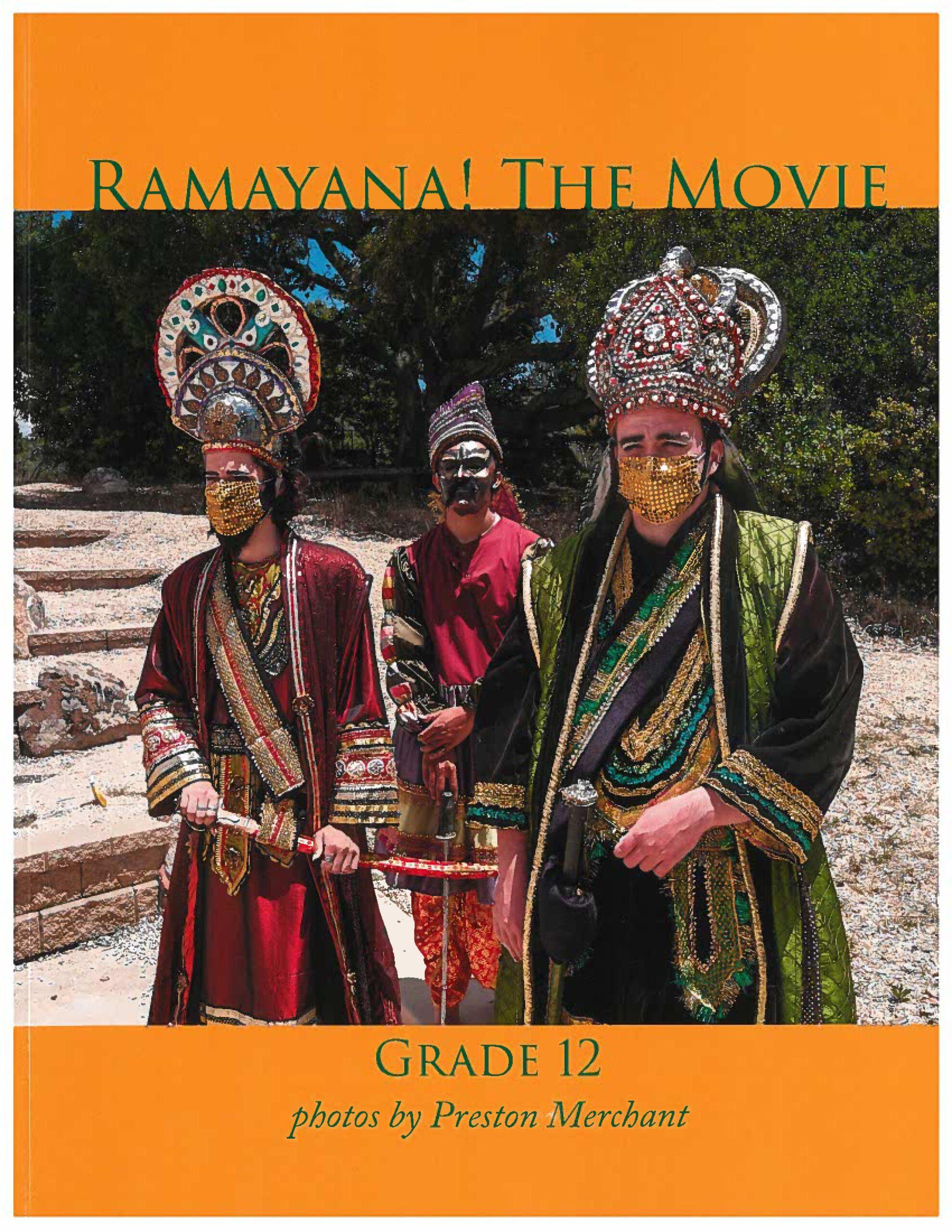 2021 12th Grade <i>Ramayana!</i> Photo Book