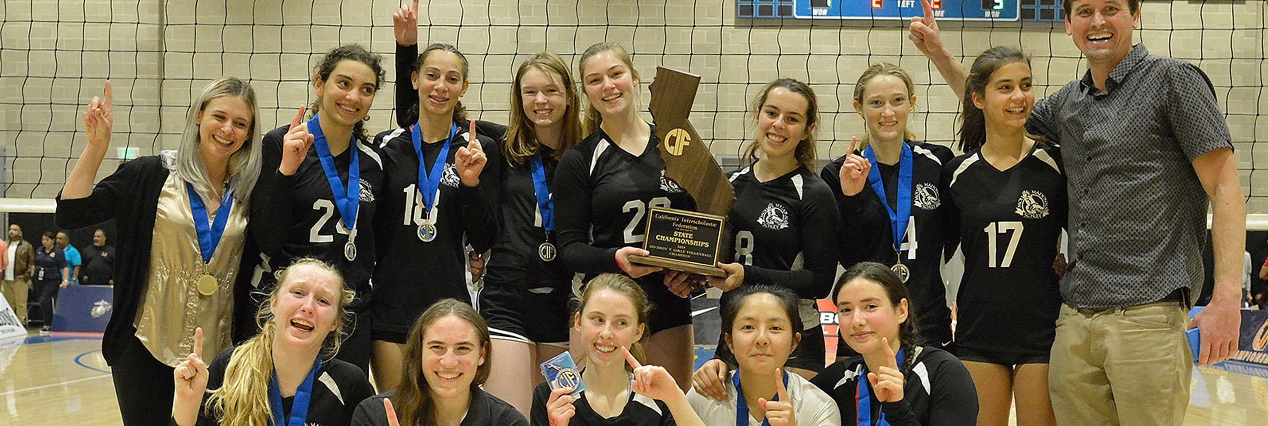 2019 girls volleyball state champions