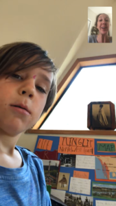 1st grade Tlinglit presentation