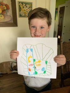 Jasper inspired Picasso art
