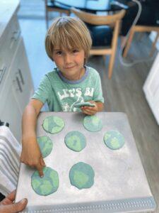 Milos Earth Day Cookies