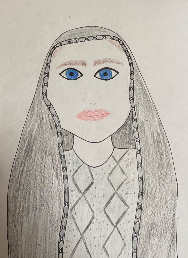 Mariah Cohen Ram Character Art